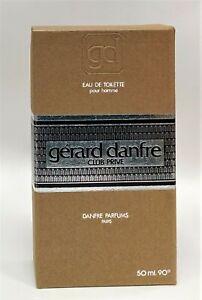 GERARD DANFRE CLUB PRIVE EAU DE TOILETTE 50 ml  PREBARCODE 90º HARD TO FIND