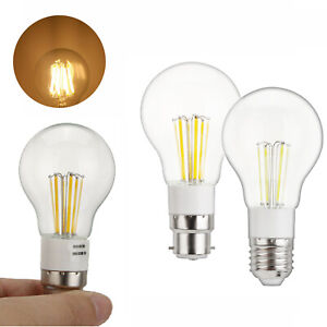 Vintage E27 B22 LED Edison Bulb 3W 4W 6W Retro Home Lights Lamp 12V 85-265V RE