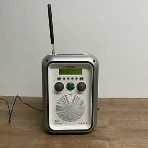 PURE OASIS PORTABLE WEATHERPROOF DAB RADIO JOBSITE WORK RADIO FAULTY BATTERY