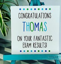 PERSONALISED Handmade Congratulations You've Passed Exams Gcse A-level Card