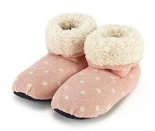Intelex Sherpa Microwavable Pink Boots Slippers Heatable Soft Bed Feet Warmer