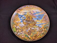 Two By Two Franklin Mint 1991 a Noahs Ark Plate by Bill Bell Nursery