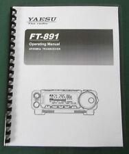 Yaesu Ft-891 Operating Manual - Premium Card Stock & Plastic Covers!