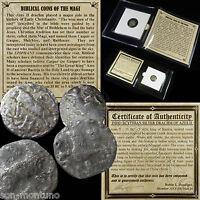 (1) SILVER Ancient BIBLICAL COIN OF THE MAGI - Roman Bible Greek Jesus 35BC-5AD