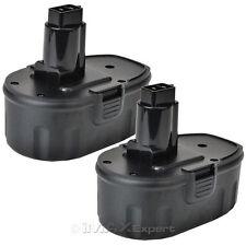 2 x 18V 2000mAh NiCd Battery for DEWALT DC330B DC550B DC527 DW059B DW908 DW960B