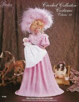 1896 Christening Day Crochet Collector Costume Vol 32 Paradise Publications Baby
