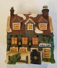 "Department 56 Dickens Village Series "" Dedlock Arms Ornament "" #57525 ,"