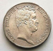 PL - Louis-Philippe - 5 Francs. 1831 K - Bordeaux - tranche en creux