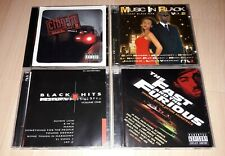 4 Sampler CD RAP Hip Hop R&B - BLACK HITS Volume One, THE FAST AND THE FURIOUS