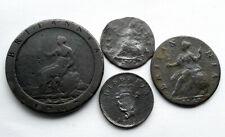 4 genuine Georgian coins
