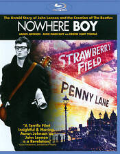 NOWHERE BOY (Blu-ray Disc, 2011) John Lennon The Beatles !! Kristin Scott Thomas