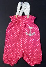 Harajuku Mini For Target Infant Baby Romper 9 Months Pink Anchor