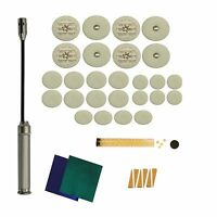 IC Leather Bass Clarinet Pads, Pad Kit, w Leak Light, Made in USA!