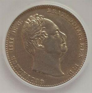 1836 NEF William IV Silver Shilling CGS 55