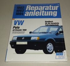 Reparaturanleitung VW Polo II Typ 86C 2F - ab 1988!