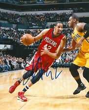 ALEXIS AJINCA signed NEW ORLEANS PELICANS 8X10 PHOTO COA E