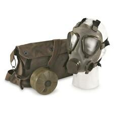 40mm Threaded Serbian Military M2 Gas Mask Full Face Adult Nbc w/ Bag & Filter