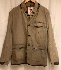 Franky Max FM Men's Tan/Brown Blazer Sport Coat Jacket SIZE Medium