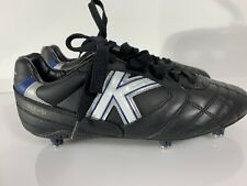 Kelme Ole Soccer Cleats Size: 7 1/2 EU: 40 1/2 Black New * NOS