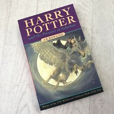 HARRY POTTER AND THE PRISONER OF AZKABAN 1999 1st Edition FIRST PRINT ERRORS Unr