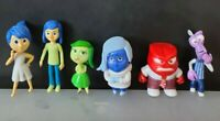 1 set  Inside Out 6 pcs Joy Fear Anger Disgust Riley Action Figures USA Stock