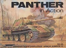 Squadron Signal Publications - German Panther in Action #11 (German WWII Tank)