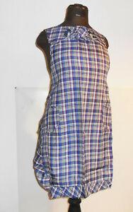 DDR Algodón Delantal de Mujer Kittel Rockabilly Vintage Retro
