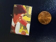 New listing Pam Shriver Female Doubles Tennis Gold Olympics Guyana Perforated Stamp