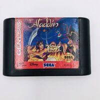 Disney's Aladdin (Sega Genesis, 1993) Tested. Authentic