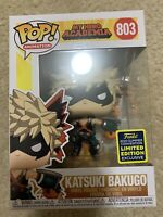 Funko Pop! Katsuki Bakugo 2020 SDCC Hot Topic Shared Exclusive Ready To ship