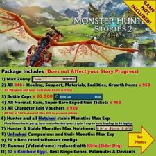 Monster Hunter Stories 2 (Switch Cloud Save Edit), NOT A GAME