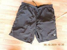Canari women's 100%nylon black padded boxer cycling shorts size Xl