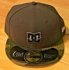 DC New Era camouflage, green and gray bad-ass hat