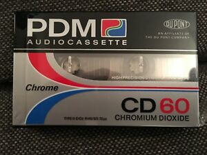 MC*PDM CD 60*  VINTAGE TAPE BLANK   OVP/FACTORY SEALED