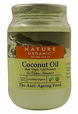 Nature Organic Raw Virgin Coconut Oil 300 ml - USDA Certified