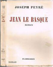 JEAN le BASQUE de Joseph PEYRÉ Jeune Berger Solitude Exaltation de l'Homme 1953