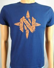 Youth NOMAD Logo Blue Hunting T Shirt Sz Yth L NEW
