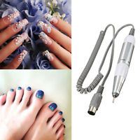 Electric Nail Drill File Replacement Handpiece Pen Manicure Pedicure Tool