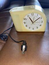 Westclox Big Ben Moon Beam Yellow Alarm Clock Alarm Does Not Work