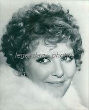Close Up of Singer Petula Clark Original News Service Photo