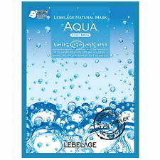 3 Pcs Aqua Lebelage Natural Mask Facial Essence Sheet Pack Korea Beauty AA_TH