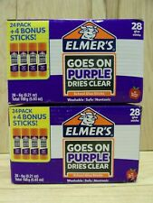 Elmers Purple Glue Sticks 56 Glue Sticks 2 Packs Of 28