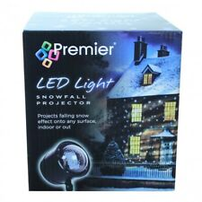 Premier Snowfall Christmas LED Projector with White LEDs (LV183081)