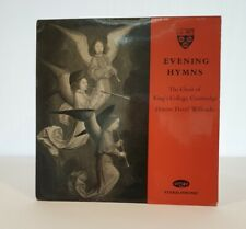 Evening Hymns recorded by the Choir of Kings College, Cambridge.