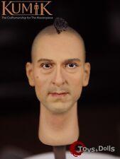 KUMIK Head 1/6 Scale KM16-4 Head Sculpt Male Head Carving Mo for hottoys Kumik