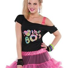 I Love The 80s T-shirt Adult Plus Size - Ladies Costume Accessories Adults