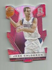 JOSE CALDERON 2013-14 PANINI SPECTRA RED DIE-CUT /25 NEW YORK KNICKS SPAIN