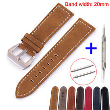 MS Leather Band for Samsung Galaxy Watch 42mm Gear S2 Classic /Gear Sport Strap