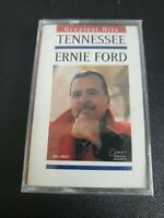"""Tennessee Ernie Ford Greatest Hits """"Sixteen Tons"""" Cassette Tape New Sealed 1995"""