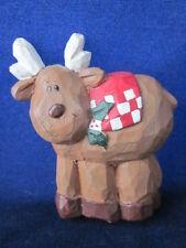 Eddie Walker Christmas Winter Rudolph Reindeer Magnet ~ Excellent